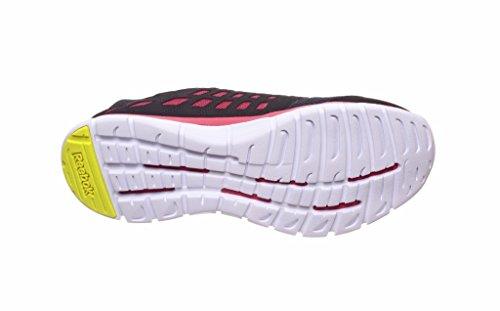 Reebok, Scarpe da corsa donna Multicolore (Nero / Rosa)