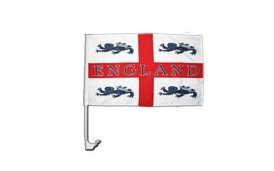 Flaggenfritze Autofahne Autoflagge England 4 Löwen - 30 x 40 cm