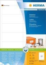 Preisvergleich Produktbild Herma Etiketten Premium A4,  weiá 97x42, 3 mm Papier matt 1200 St.