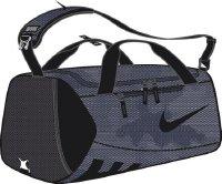 Nike Herren Alpha (Medium) Training Sporttasche, Thunder Blue/Black, 61 x 28 x 28 cm