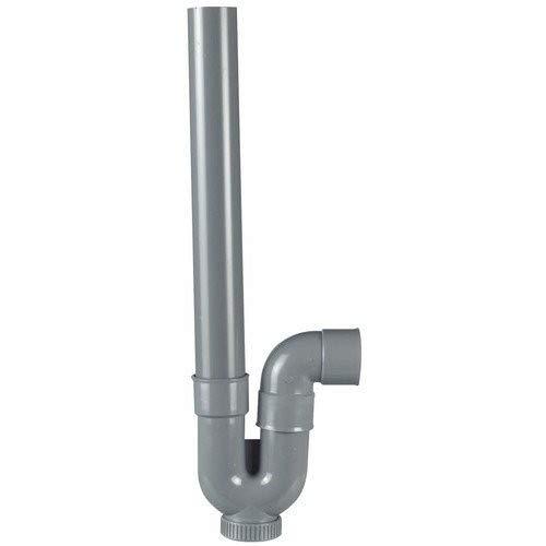 Siphon ou évacuation de machine a laver diamètre 40 mm sortie horizontale - jardiboutique