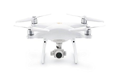 DJI Drone Phantom 4 PRO + V2.0 - Versión EU, Video 4K/60fps e Imágenes en modalidad Burst a 14 Fps, control remoto integrado - Blanco