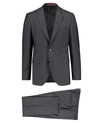 BOSS Hugo Herren Anzug Jeffrey182/Simmons182 Regular Fit grau (13) 52