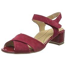 ARA Women's GRADO Ankle Strap Sandals, Red (Rot,Rosso 05), 6.5 UK