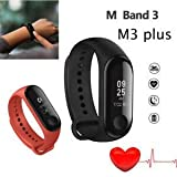 Tomce Mi Max 3 Compatible Smart Fitness Band 3 Activity Tracker | Fitband with OLED Heart Rate Monitor, Health Activity…