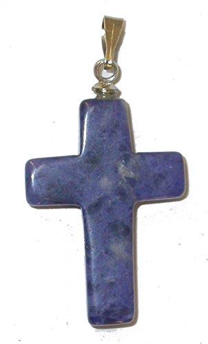 Anhänger Steinkreuze für Kette und Lederband