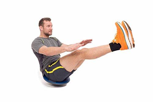 Balance-Board »Gyro« / Der ideale Kreisel. Mit dem Wackelbrett trainiert bzw. stärkt man das Körpergleichgewicht