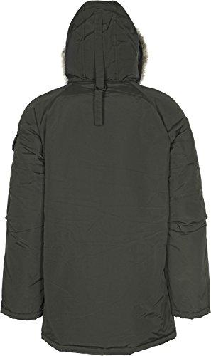 Carhartt Homme Anchorage Parka Jacket, Vert Vert