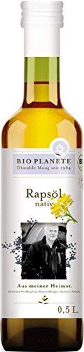 Bio Planete Bio Rapsöl nativ aus deutscher Herkunft (2 x 500 ml)