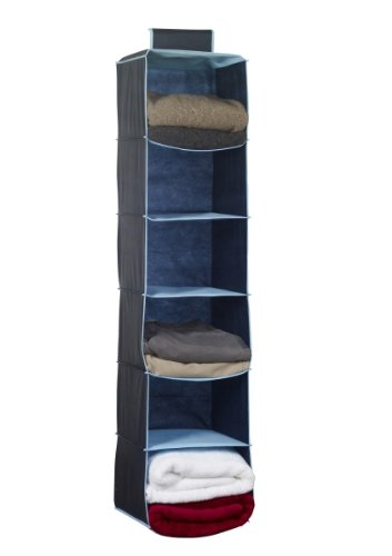 h-l-russel-10-pocket-shoe-organizer-con-profili-colore-blu-organizzatore-per-maglioni-con-bordo