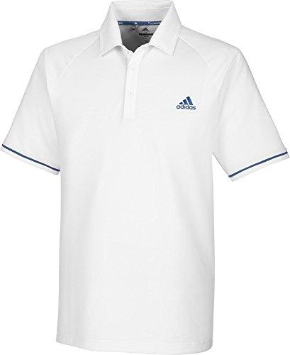 adidas ClimaCool Athletic Raglan Polo de Golf Homme XL blanc