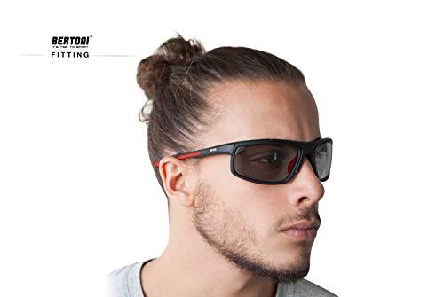 Zoom IMG-3 bertoni p180ftc occhiali sport polarizzati