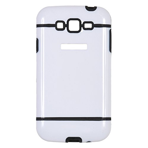 iCandy™ Dual Tone Hard PC Back Cover For Samsung Galaxy Grand S9082 / Grand Neo S9060 / Grand Neo Plus S9060i - Black  available at amazon for Rs.165