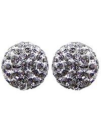 2 X Shamballa boules à facettes 10mm un choix de sept couleurs, chaque perle est composée de plus de 85 perles en cristal Swarovski qualité AAA