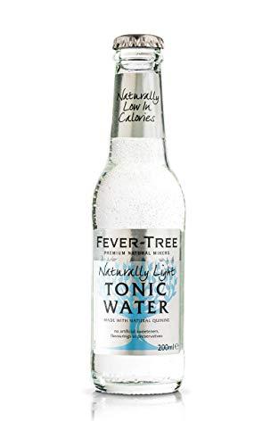 Fever-Tree Naturally Light Tonic MW Flaschen MEHRWEG, 24er Pack, 200 ml
