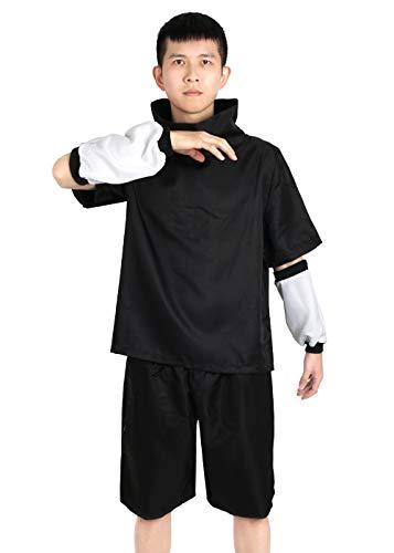 CoolChange Cosplay Kostüm von Sasuke Uchiha (Schwarz, XXL) -