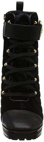 Nine West Damen Hisani Combat Boots Schwarz (Black)