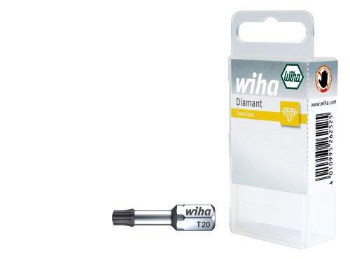 Wiha Bit Diamant 25 mm mit Torsionszone TORX® (T25) 1/4