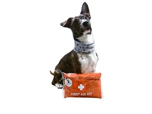 ERSTE HILFE SET für Hunde, Katzen und Tierfreunde aller art - SICHERHEIT für schnelle Erst und Wundversorgung - Verbinden, Desinfizieren, Zeckenzange und Pinzette - SOFORTHILFE FÜR IHRE LIEBEN - Die APOTHEKE für unterwegs - Leicht zu verstauen im Rucksack - super zum Laufen, Joggen, Wandern und Gassi gehen von My little Pawz