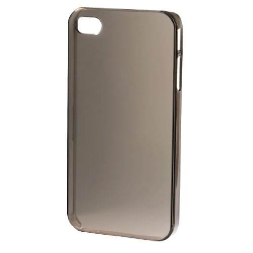 Hama Slim Handy-Cover für Apple iPhone 4/4S transparent rauch