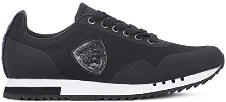Donna  Uomo bluer scarpe da ginnastica Uomo Eco Pelle nero Facile da usare Vendita di fine anno Grande nome internazionale | Modalità moderna  | Gentiluomo/Signora Scarpa