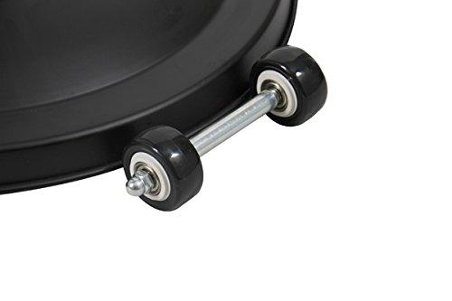 Firefly 2.100 Watt Infrarot-Heizstrahler (Halogen) Terrassenheizung, freistehend, 3 Leistungsstufen, schwarz - 4