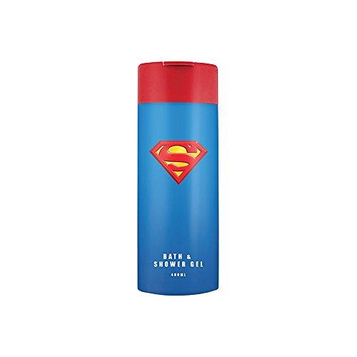 Superman Unisex, Bade Duschgel 400 ml, 2er Pack (2 x 400 ml)