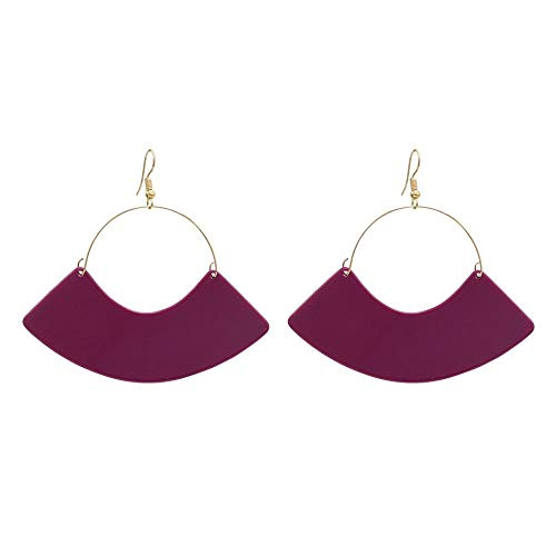 SXXMY Ohrringe Ohrringe Persönlichkeit minimalistischen Ohrringe 7.7 * 8 cm -