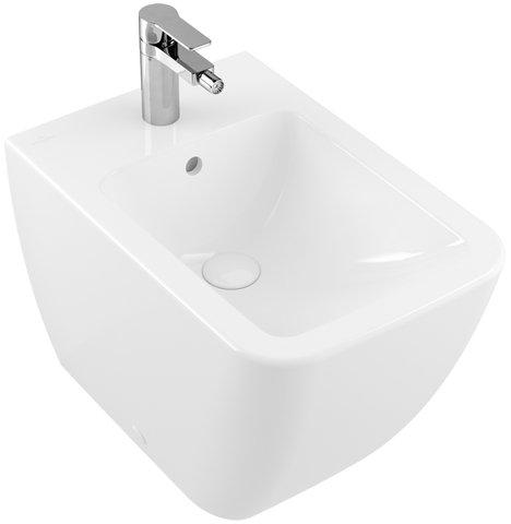 Villeroy & Boch Bidet Venticello 4412 560x375mm Weiß Alpin, 44120001
