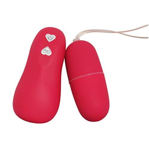 Productos para adultos, BaZhaHei, Estimulador de clítoris del huevo vibrante del control remoto inalámbrico de la velocidad 68 Sex Toys de Salto de huevo luminoso (rosa rosa púrpura) Juguetes sexuales