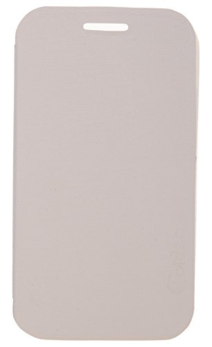 iCandy Soft TPU Non Slip Back Shell PU Leather Hybrid Flip Cover for Samsung Galaxy Star Pro S7262 - WHITE  available at amazon for Rs.135