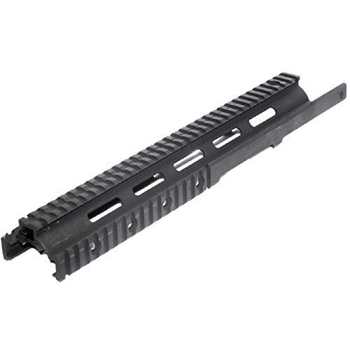 Airsoft Softair Ersatzteile CYMA 370mm CNC Aluminum RAS Handguard Rail System Schienen handschutz mit Rail Cover für CYMA Tokyo Marui G&P JG M14 Serie AEG