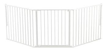 BabyDan Barrière Flex Large Blanc