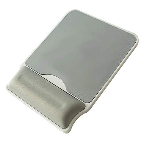 C-Xka Computer-Mausunterlage mit Handgelenk-Unterstützung, Weiche Speicher-Baumwolle Harte Verdickte Mausunterlage 10mm Armband-Handgelenk-Handgelenk-Auflage-Maus-Handauflage