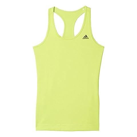 Adidas Girl's Tech Fit Solid T-Shirt - Green/SELISO, Medium