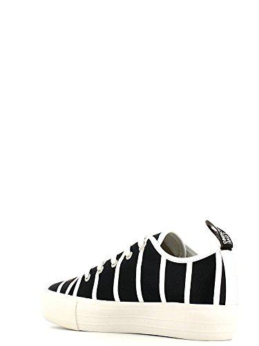 Love Moschino Sneakers Donna Tessuto Blu Bianco Blu