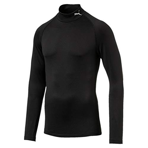 Puma Herren Baselayer Pullover, Black, L (Pullover Golf Puma)