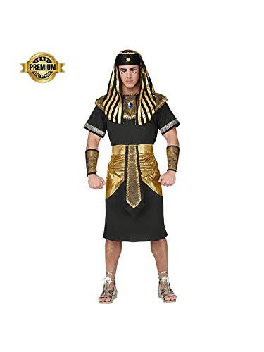 Widmann Srl Costume Faraone da Uomo Adulti, Nero, WDM07943