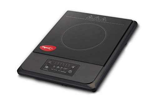 Pigeon by Stovekraft Amber 1500 Watts Induction Cooktop with Touch Panel, 2 Years Warranty