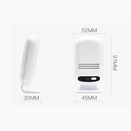 8°KL Luftqualität Messgerät Tragbare WIFI Hause Smog Meter PM2.5 CO2 HCHO TVOC Luftqualitätsanalyse Tester Detektor Sensor Temperatur Luftfeuchtigkeit Monitor #721821