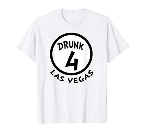 Betrunkene 4 lustige Gruppen-Hemd-Neuheits-Andenken Las Vega