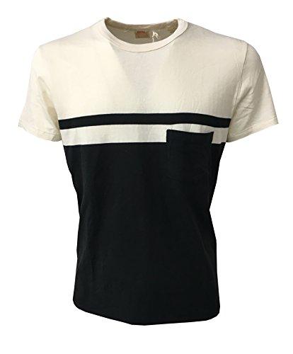 LEVI'S VINTAGE CLOTHING t-shirt herren creme/schwarz 100% baumwolle - creme/schwarz, Medium (Levi Vintage Clothing)