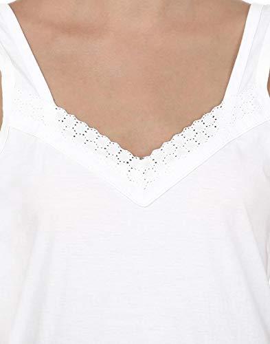 BLAZON Women's Cotton Fairy Full Slip (White, XXXXX-large/115cm)