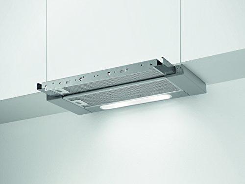 AEG X66164MP1 Flachschirmhaube / A / 59,8 cm / Grau / LED-Beleuchtung / Kohleaktivfilter