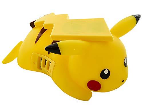 TEKNOFUN Pokémon Pikachu Kabellos Mobil Ladegerät (Pokemon-stecker)