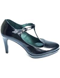 f9072312df6 PATRICIA MILLER Zapato DE Piel con Correa Tacon Fino Y Plataforma 601 para  MUJECR