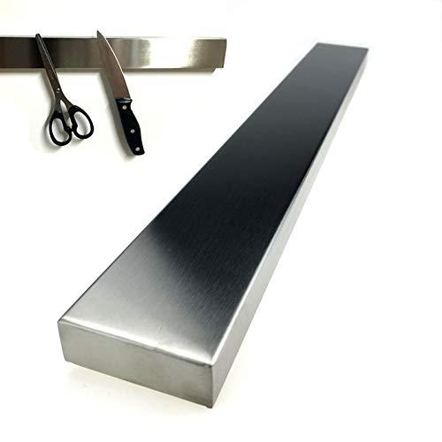 HAC24 Edelstahl Messerhalter 40cm | Magnetleiste Messerblock | Magnet Messerleiste Küchenmesser | Universal Messer Leiste Magnetisch