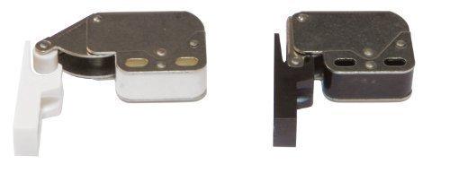 Primavera schnaepper Mini dispositivo di chiusura Chiusura a pressione Scrocco in plastica - bianco