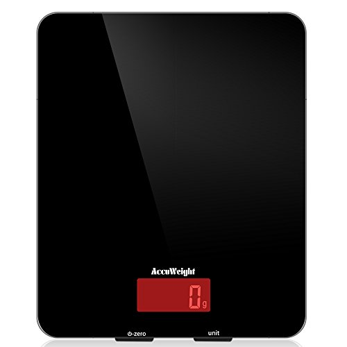 Accuweight Báscula Digital para Cocina de Alta...