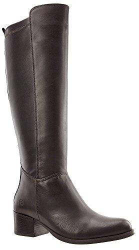 JJ Footwear Damen Stiefel Leder/str.text aberdare M/L Espresso Nappa